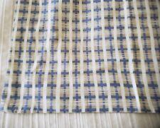 Yves Delorme.Blue,Tan & White Stripe.Flip Side Blue & Tan.Euro Pillow Sham New
