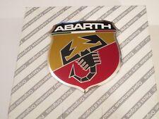 stemma logo FREGIO ABARTH ANTERIORE FIAT 500 CINQUECENTO ORIGINALE FRONT EMBLEM