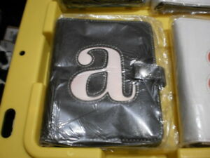 4 Photo albums 4X6 20 double sleeves NEW, Letter A pink, Orange letter A White