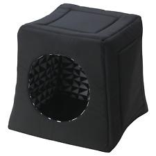 ikea Lurvig Cat Bed House Black 204.632.78
