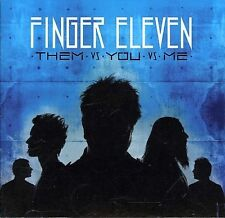 FINGER ELEVEN Them vs. You vs. Me (CD, Mar-2007, Wind-Up) FACTORY SEALED