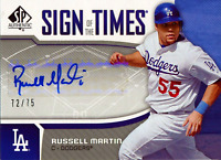 Russell Martin Autographed 2006 Upper Deck Card