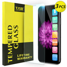 Tjs [3-Pack] For Apple iPhone 11 Pro Max/Xs Max Tempered Glass Screen Protector