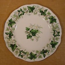 "Royal Albert Ivy Lea 8.25"" Lunch Plates Made in England"