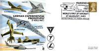 CC69 WWII German Experimental Jet Messerchmitt aircraft RAF cover BFPS pmk
