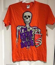 """""""I'm Here For The Boos"""" Halloween T Shirt Size Small 34-36 Nwt"""