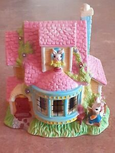Beautiful Decorative Ceramic House for Easter, Christmas, or Any Occasion