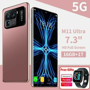 M11 Ultra Global Version 7.3 inch Full Screen Android 11.0 16GB 1TB Smartphone
