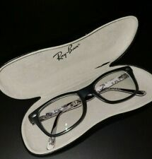 Ray-ban RB 5228 5405 50 17 140 Eyeglass Glasses Black Matte Frames with Case