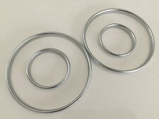 E30 Silver Cluster gauge Dashboard rings speedo M3 320is M325i 333i BMW 3 Series