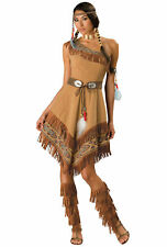 Indian Maiden Pocohontas Native American Deluxe Women Costume
