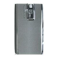 Genuine Original Battery Back Cover Door For Nokia E66- Greyish Silver