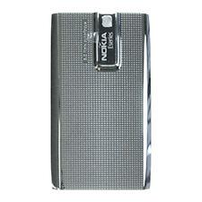 Véritable batterie d'origine couverture arrière porte pour nokia E66-gris argent