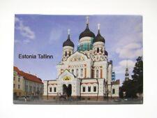Tallinn Estland Foto Fridge Kühlschrank Magnet Reise Souvenir (171)