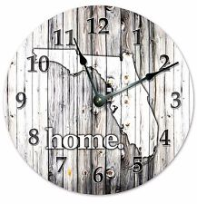 FLORIDA RUSTIC HOME STATE CLOCK Large 10.5 inch Clock - 2220