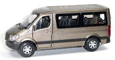 Mercedes Benz SPRINTER Traveliner Sammlermodell ca. 12 cm bronze metallic WELLY