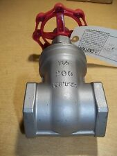 """NEW Kitz S14A 1-1/2"""" 200 Gate Valve 316 SS Stainless Steel *FREE SHIPPING*"""