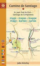 CAMINO GUIDES DE SANTIAGO MAPS 2017 - BRIERLEY, JOHN - NEW PAPERBACK BOOK