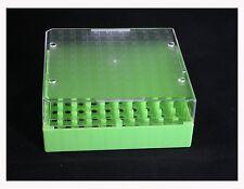 Polycarbonate CryoBox Tubes & Vials Rack, 133x133x52mm, 10x10 Array (Pack of 6 )