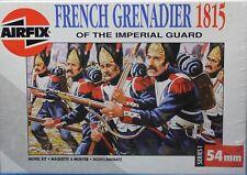 FRENCH GRENADIER IMPERIAL GUARD Waterloo 1815 Airfix Series 54mm Model Kit 01553