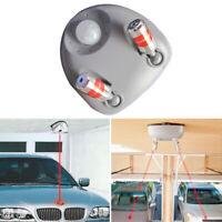 Car Dual Laser Garage Parking Assist Sensor Aid Guide Reverse Stop Light System