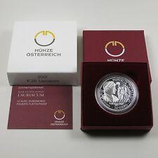 Österreich 20 Euro 2012 Silber PP Lauriacum