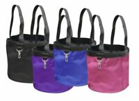 Showman Collapsible Durable Nylon Grooming Tote