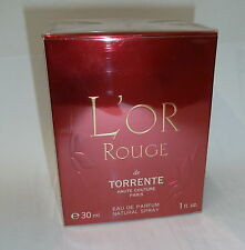 L'OR ROUGE DE TORRENTE EAU DE PARFUM NATURAL SRPAY 30 ML 1 FL. OZ.