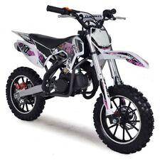 50cc Dirt Bike Kids Mini Funbikes MXR 61cm Pink Motorbike Petrol