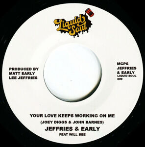 JEFFRIES & EARLY YOUR LOVE KEEPS WORKING ON ME  Soul Northern Motown
