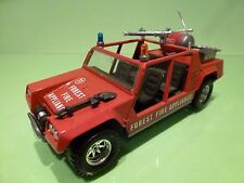 BBURAGO 0179 LAMBORGHINI CHEETAH - FOREST FIRE - RED 1:24 - GOOD CONDITION