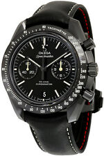 311.92.44.51.01.004 | NEW OMEGA SPEEDMASTER PITCH BLACK MEN'S 44.25 MM MOONWATCH