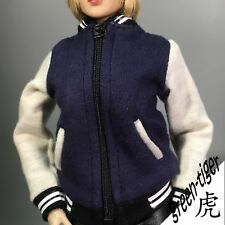 G103 [NEW SERIES] 1:6 Scale Female Action figure Baseball Suit -Blue Jacket ONLY