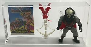 MOTU He-Man Vintage Loose Hordak w Comic Series 4 Mexico 1985 AFA UKG 85%