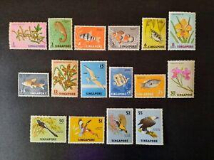 Singapore 1962 - 66. Definitive series. LMM, some UM.