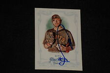 BARRY ZITO 2013 TOPPS ALLEN & GINTER'S SIGNED AUTOGRAPHED CARD #99 SF GIANTS