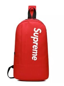Supreme Cross body/CHEST BACK MESSENGER BAG. SIZE: LARGE. BRAND NEW WITH TAGS