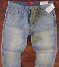 Guess Slim Straight Leg Jeans Men's Size 30 X 30  Classic Distressed Light Wash