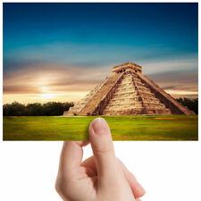 """Chichen Itza Pirámide Templo pequeña fotografía de 6"""" X 4"""" Foto Impresión de Arte Regalo #2205"""