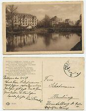 34538 - Kupele Piestany - Hotel Thermia a Irma kúpel - AK, gelaufen 22.5.1927