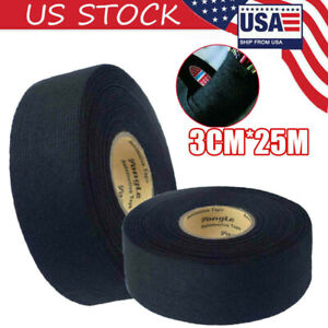 Car Harness Tape Electrical Wiring Fabric Loom Insulation Adhesive Cloth Rolls