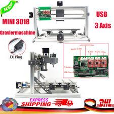 3 Axe CNC 3018 Router Engraving Kit graveur bois USB Milling machine fraiseuse