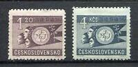 37019) Czechoslovakia 1947 MNH World Youth Festival 2v