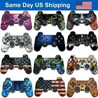 New Custom Wrap Sticker Decal Cover Skin for Playstation 3 Sony PS3 Controller