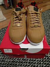 NEW Mens Nike Cortez Premium Casual Shoes Size 10.5 Wheat Crimson 844791-700