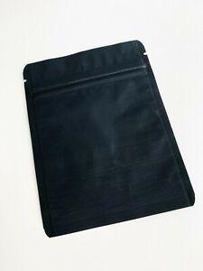 Matte Black Aluminium Foil Zip Lock Bags 10x13 (Food Grade) Pouches x 1000