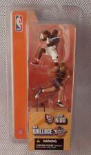 """JASON KIDD Nets & BEN WALLACE Pistons (2 Pack) '03 McFARLANE NBA 3"""" inch Figures"""