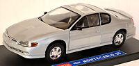 Chevrolet Monte Carlo SS Coupe 1999-2005 silber silver metallic 1:18 Sun Star