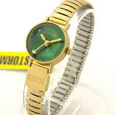 "STORM VINTAGE WOMEN'S WATCH ""Baby Bubble"" Gold/Green"