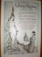 Wanan-Ranee Perfume of Ceylon J Grossmith advert 1918